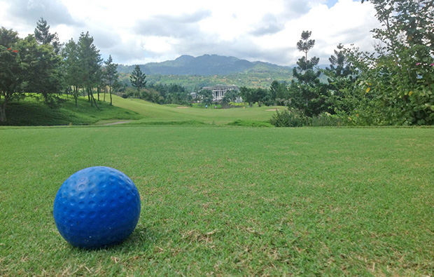 golf ball, rainbow hills golf club, jakarta, indonesia