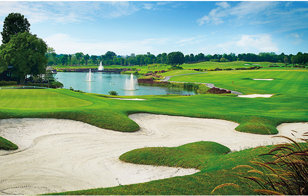 bunker D Varee Charnvee Khao Yai Golf Club