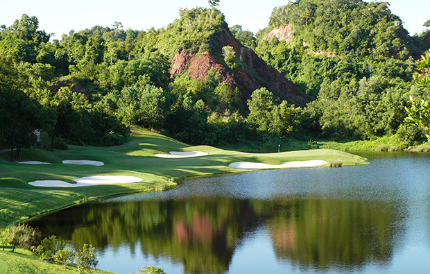 another view of 14th hole red mountain golf club, phuket