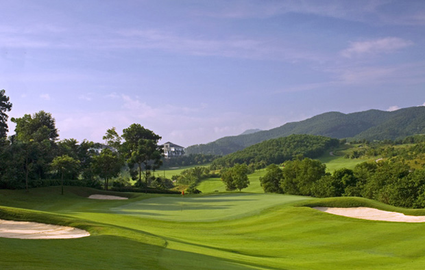 scenery at rose-poulter course mission hills, guangdong china