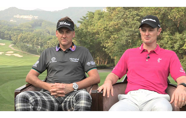 professional golfers at rose-poulter course mission hills, guangdong china