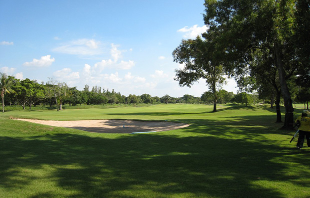 fairway, the royal golf country club, bangkok, thailand