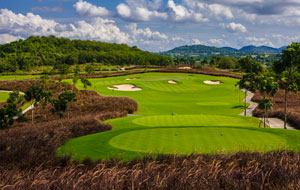 par 3, siam country club plantation course, pattaya, thailand