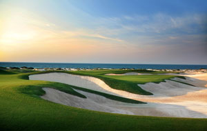 seaview at saadiyat island beach golf club, abu dhabi, united arab emirates