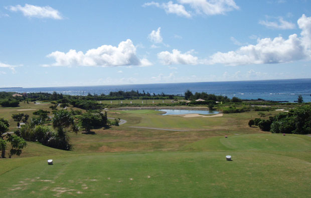 Tee boxes Shigira Bay Country Club