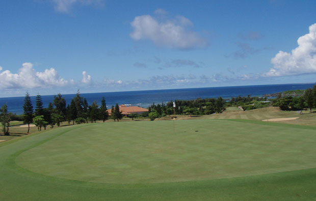 View across Shigira Bay Country Club