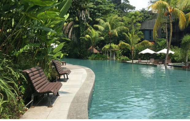 Siloso Beach Resort - Swimming Pool