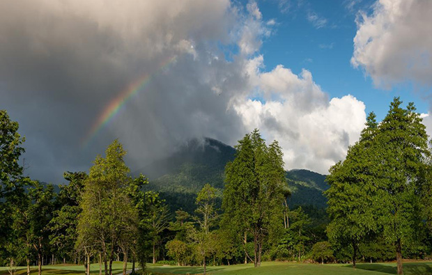 rainbow Soi Dao Highland Golf Resort, Pattaya, Thailand