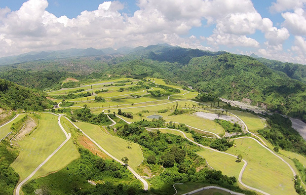 Another aerial view Clark Sun Valley Golf Country Club, Clark, Philippines