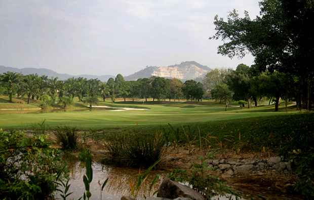 General View over Sungai Long Golf Country Club, Kuala Lumpur