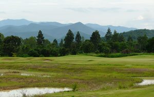 wetlands, gold canyon golf club, chiang mai, thailand