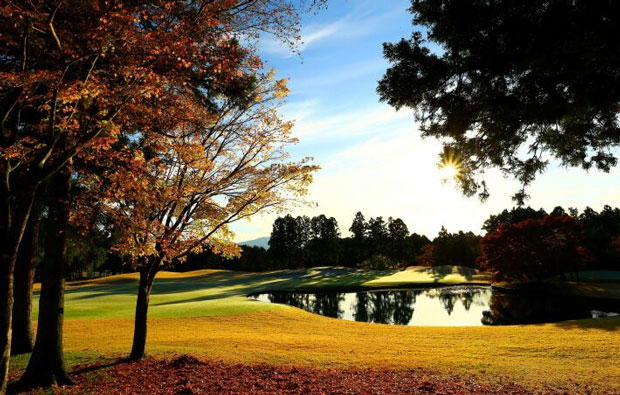 Taiheiyo Club Gotemba West Course Autumn View