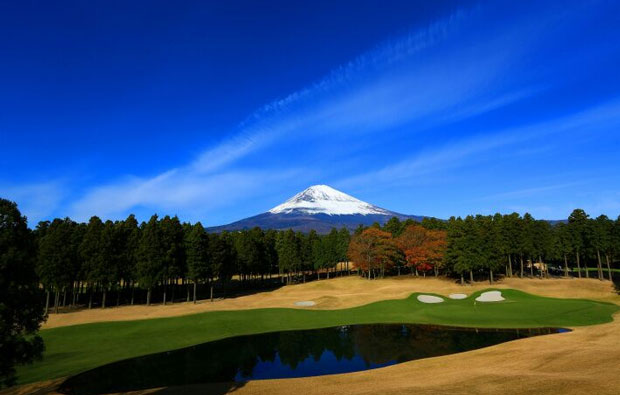 Taiheiyo Club Gotemba West Course - View to Mt Fuji
