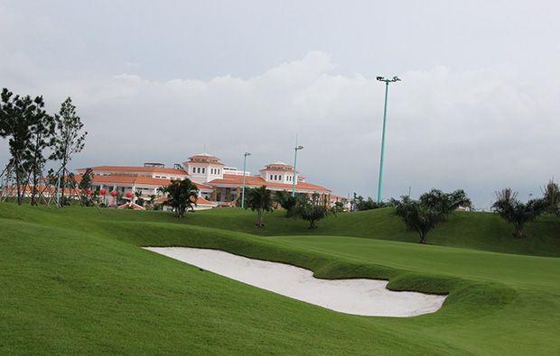 clubhouse, tan son nhat golf course, ho chi minh,vietnam