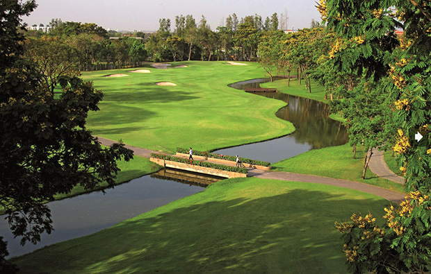 fairway, thana city golf club, bangkok, thailand