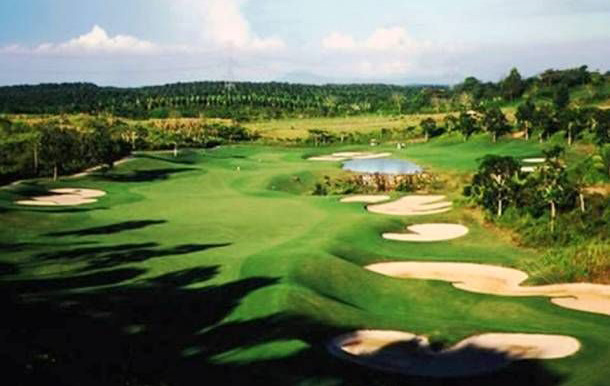 general view The Legends Golf Resort, johor, malaysia