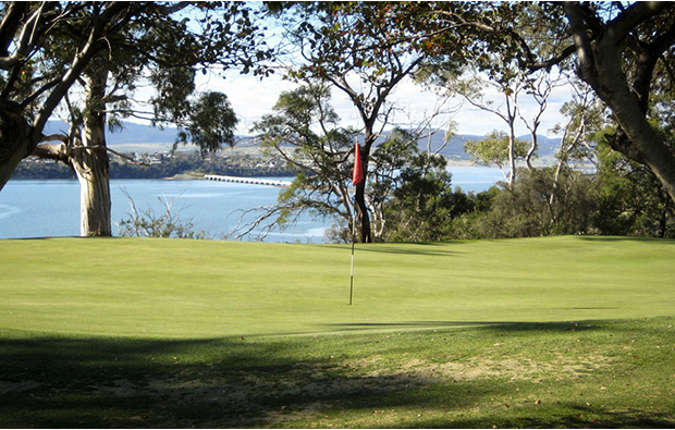 Green The Tasmanian Golf Club, Australia