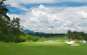 view of greenwood golf club, pattaya, thailand