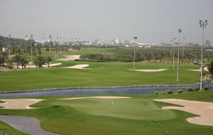 general views of  tower links golf club, dubai, united arab emirates