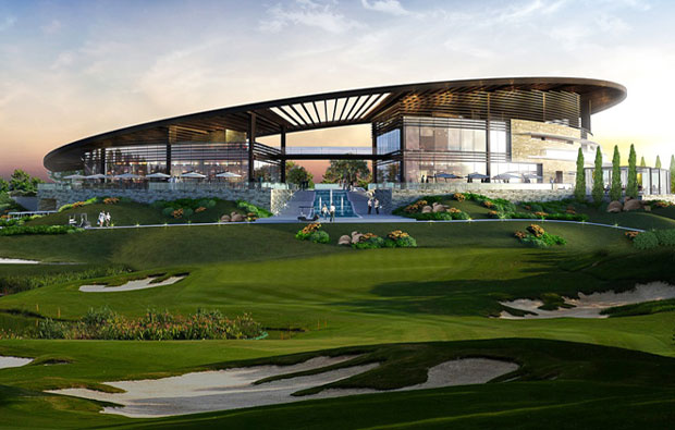 Trump International Golf Club Clubhouse