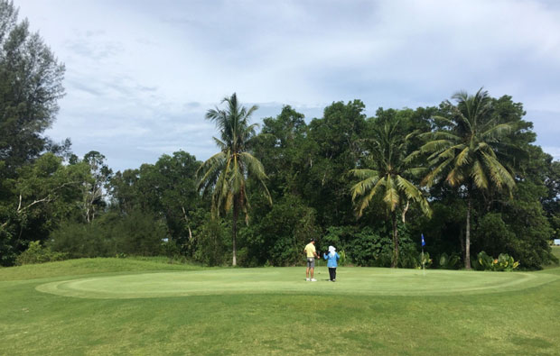 green Tublamu Navy Golf Course