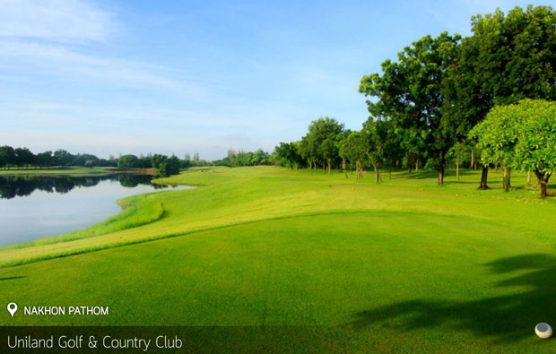 fairway Uniland Golf Country Club, Bangkok, Thailand