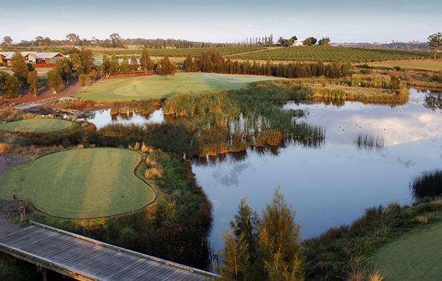 Aerial View The Vintage Golf Club Hunter Valley