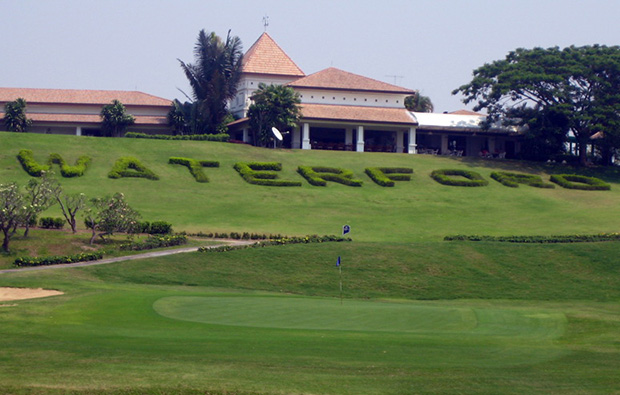 clubhouse, waterford valley golf club, chiang rai, thailand