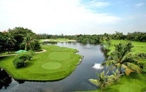 panorama, windsor park golf club, bangkok, thailand