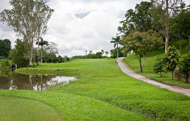 Yangon Golf Club tee box