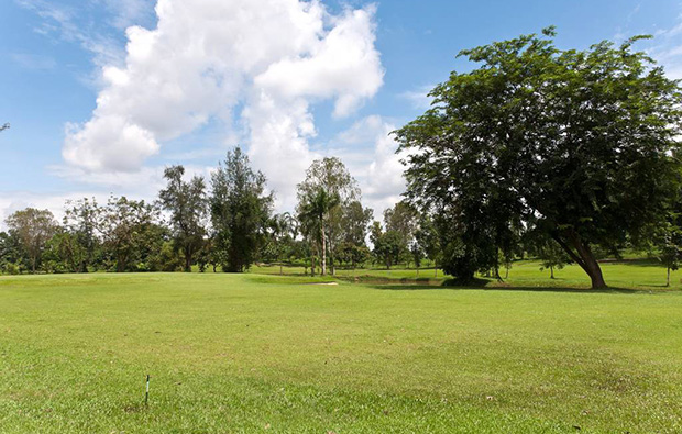 Yangon Golf Club wide open fairways