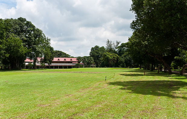 Yangon Golf Club clubhouse
