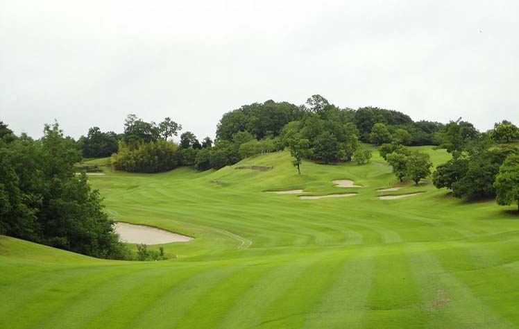 fairway bunkers Yokawa Country Club