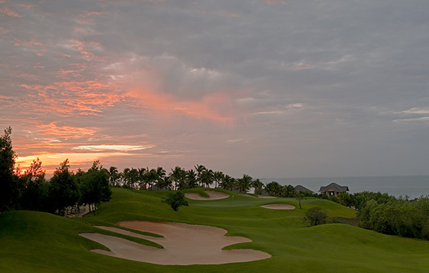 1st hole sealinks golf club, ho chi minh, vietnam