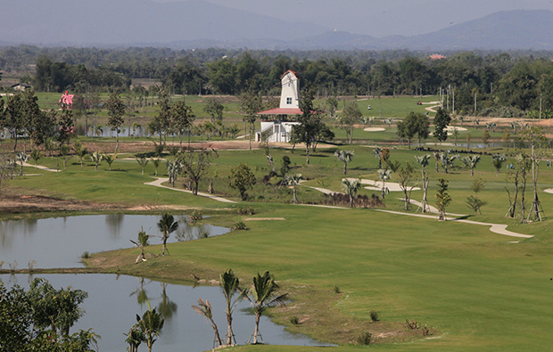 windmill, happy city golf resort, chiang rai, thailand
