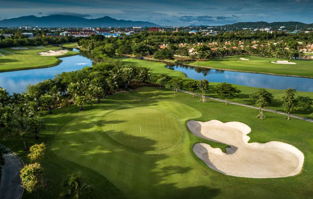 Amata Springs Country Club Aerial View