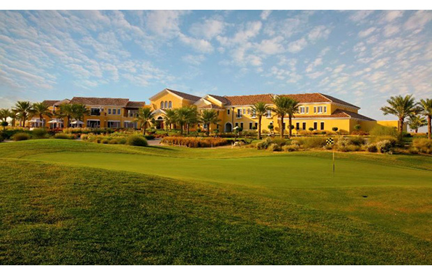 club house, arabian ranches golf course, dubai, united arab emirates