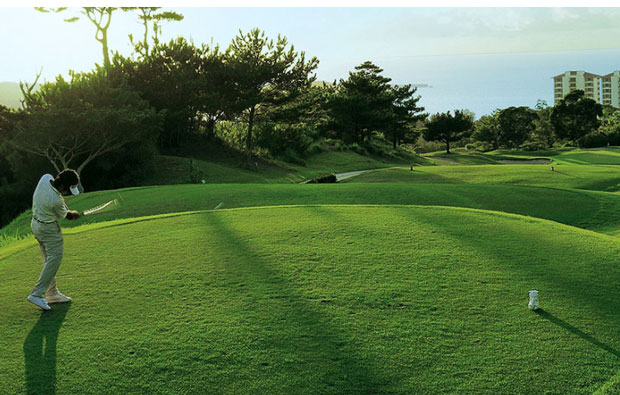The Atta Terrace Golf Resort Tee Box