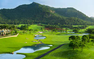hole 11, black mountain golf club, hua hin, thailand