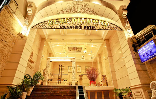 Blue Diamond Signature Hotel Entrance
