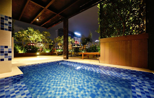 Blue Diamond Signature Hotel Pool