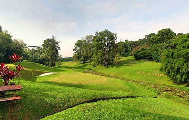 newly renovated new greens and tee box of champions golf course, singapore