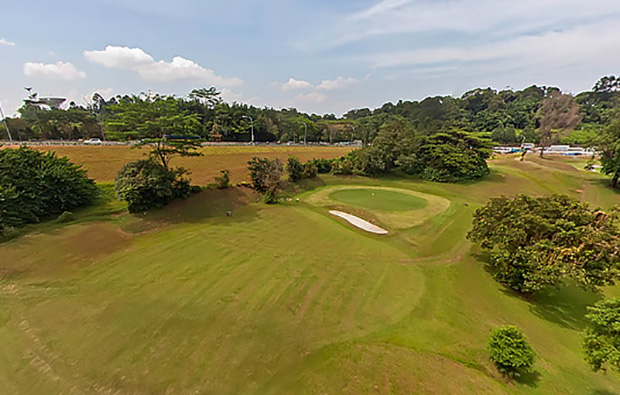 36 holes spread at two courses at champions golf course, singapore