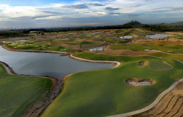 Chee Chan Mountain Golf Resort Aerial View