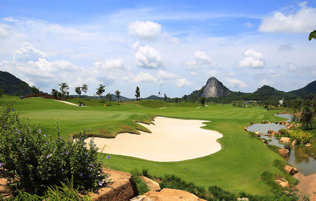 Chee Chan Golf Resort Bunkers