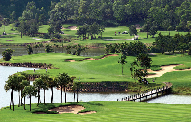 overview, chi linh star golf club, hanoi, vietnam