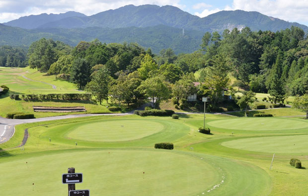 Chunichi Country Club Putting green