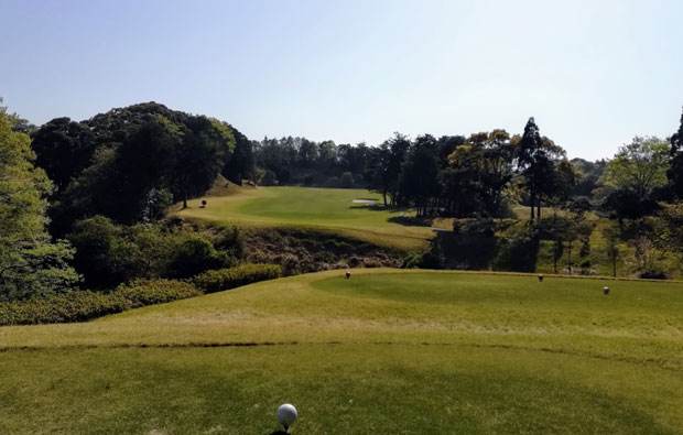 Chunichi Country Club Tee box
