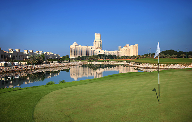 clubhouse at al hamra golf club, dubai, united arab emirates