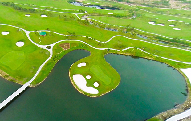 island green diamond bay golf resort, nha trang, vietnam